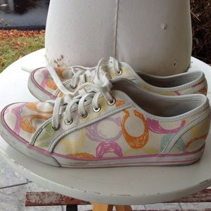 Womans Coach sneakers.